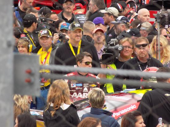 Martinsville, VA: Jeff Gordon preparing to get in his car.