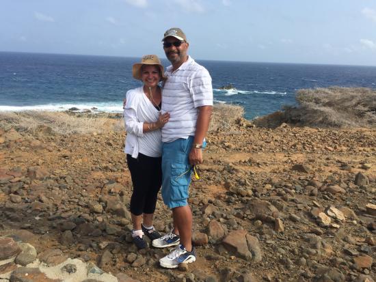 Santa Cruz, Aruba: The Clark's from Virginia. Feb 2016