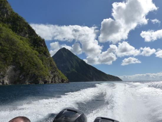 Vieux Fort, Saint Lucia: Where else can you get a view like this?