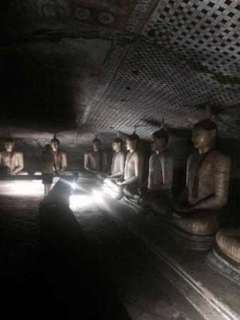 Dambulla, Sri Lanka: Статуи
