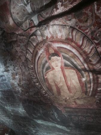 Dambulla, Sri Lanka: Роспись