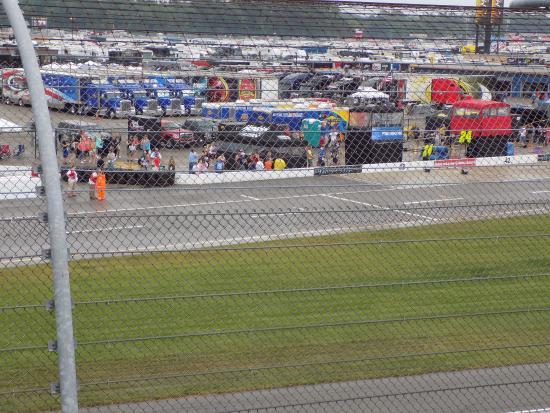Бруклин, Мичиган: Michigan International Speedway..Pit road