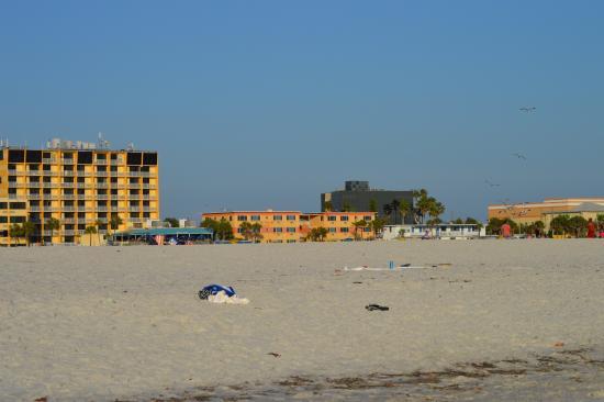 Beach - Picture of Page Terrace Beachfront Hotel, Treasure Island - Tripadvisor