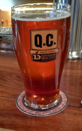 "Glens Falls, NY: This is my ""Quality Control"" Dacker beer. QC is like a mug club ;)"