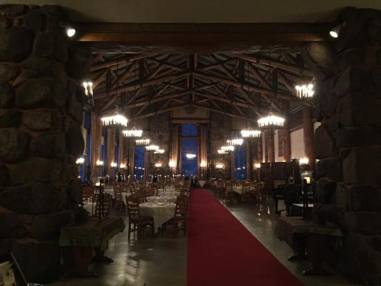 Beau The Majestic Yosemite Dining Room: Dining Room At Night