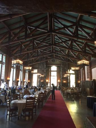 The Majestic Yosemite Dining Room: Dining Room In Daylight