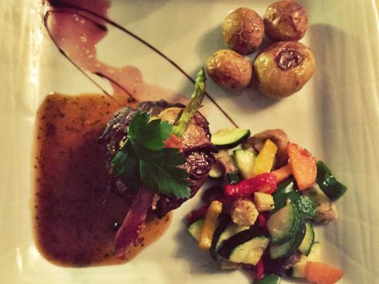 oksemørbrad med foie gras