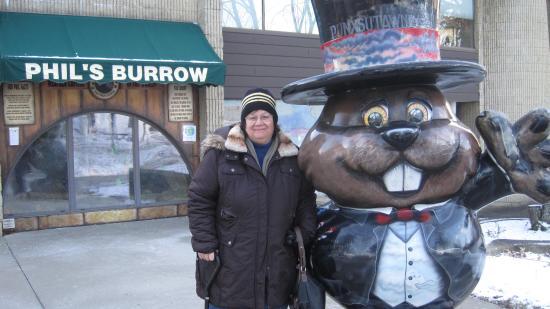 Punxsutawney, PA: Phil's Burrow