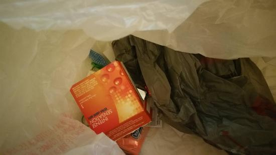 Quality Inn Rochester Airport: Condoms, lipstick, toothbrush, etc found next to drugs in room
