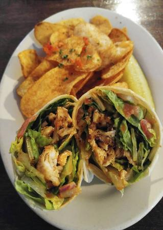Negaunee, MI: Buffalo Chicken Wrap