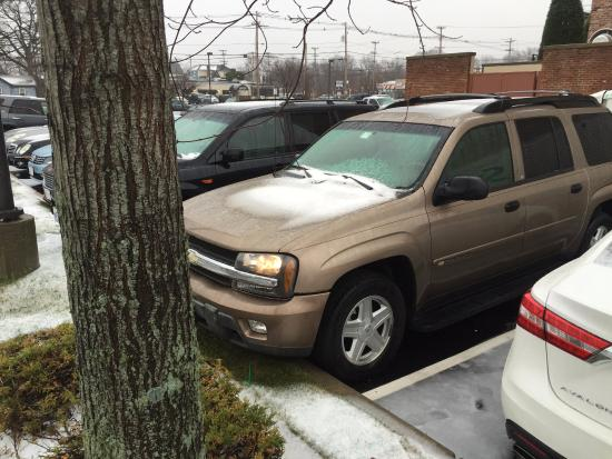 Warwick, RI : rain forecast, oops, it was snow !!!