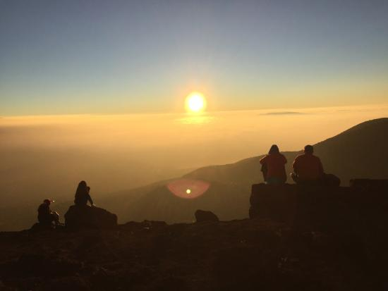 Mauna Kea Summit: Summit at Visitor Center for sunset