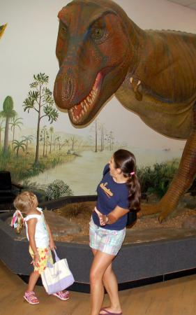 Greensboro, NC: t-rex!