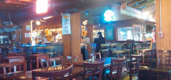 Orange Park, Floride : The bar and inside