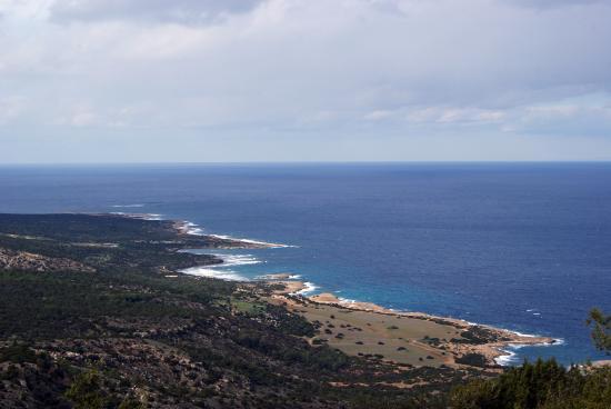 Aphrodite Trail: Panorama