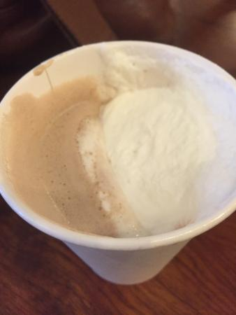 Los Gatos, Kalifornien: Hot chocolate