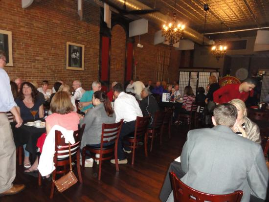 Canton, OH: This is the dining room--spacious and great for intimate meals or groups.