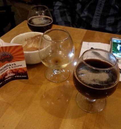 Kalamazoo, MI : Cold Brew on Nitro snifters.