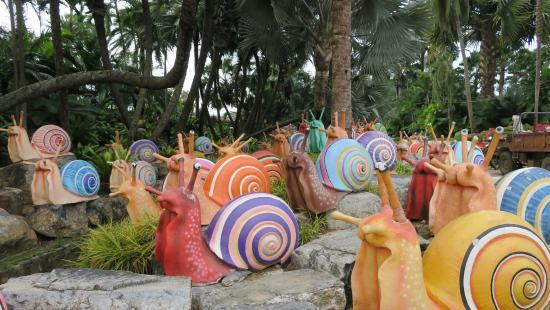 Nong Nooch Tropical Botanical Garden: beurk