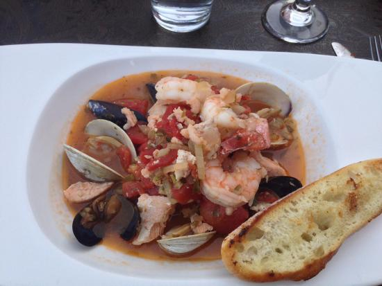 Fort Benton, MT: Union Grille seafood pasta
