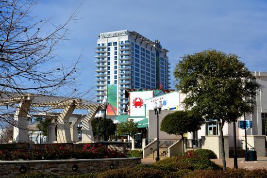 Bossier City, LA: Looking toward The Margaritaville Resort and Casino!