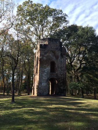 Summerville, Carolina del Sur: Church Bell Tower in Colonial Dorchester