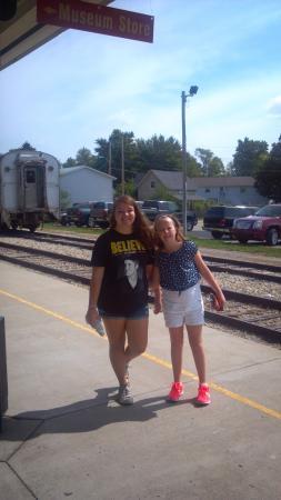 Carmel, Indiana: near railroad station