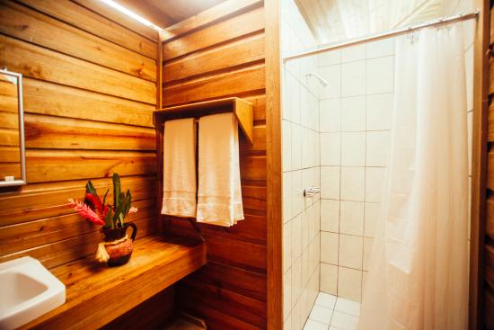 Belmopan, Belize: Hot showers in Cabanas