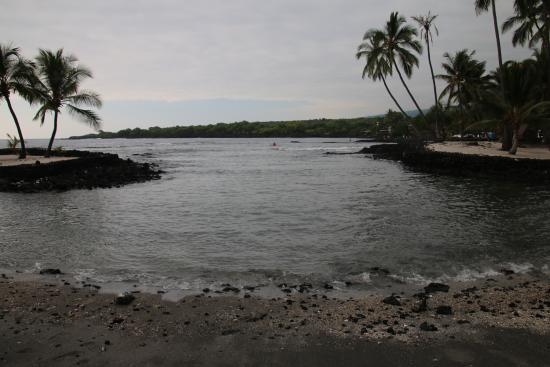 Honaunau, HI: The inlet with turtles