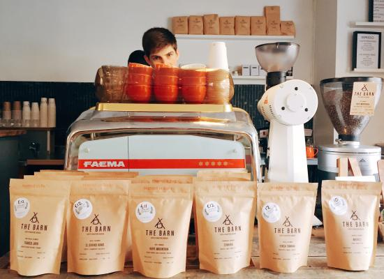 Upshot Espresso: All of the coffee and tea we serve is available to take home as beans and leaves
