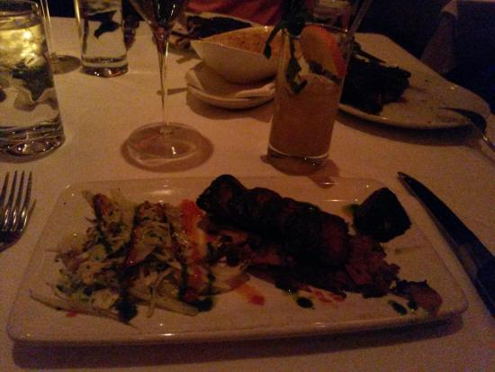 Livonia, MI: The hanger steak which was delicious. Highly recommend for a smaller appetit.