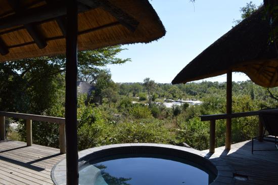 Londolozi Private Game Reserve, Sudáfrica: Plunge pool