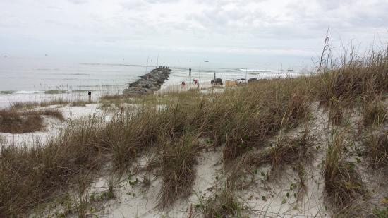 New Smyrna Beach, Φλόριντα: View of breakers.