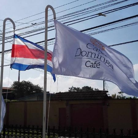 Santo Domingo de Heredia, Costa Rica: Our flags!