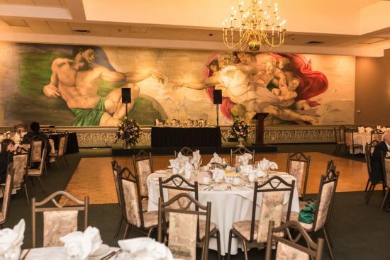 St. Catharines, Canada: Reception Hall - Niagara Wedding Photographer