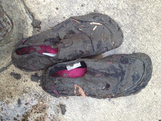 Ponte Vedra Beach, FL: Plan to get muddy!