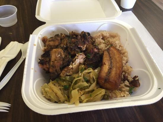 Sidney, OH: Jerk chicken