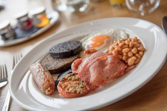 Peterhead, UK: A nice hearty breakfast to set you up for the day