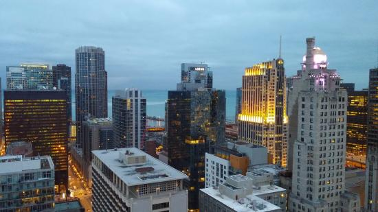 from the 45th floor picture of chicago marriott downtown rh tripadvisor com