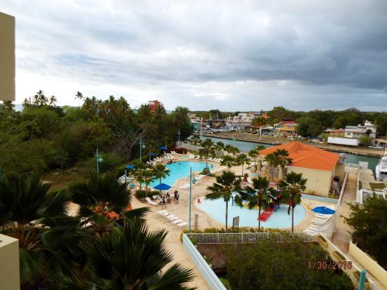 Aquarius Vacation Club: Pool area