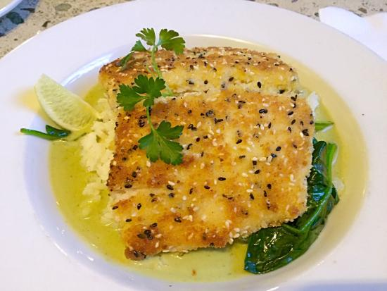 The Mansion: Yummy Flounder with special rice