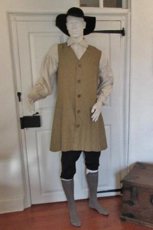 Betlehem, PA: Costume of a Moravian Man