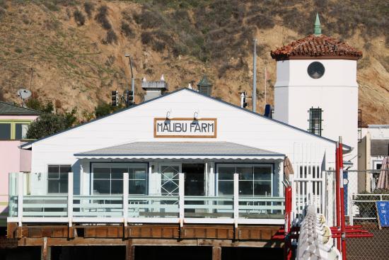 Malibu Pier: Pier and Malibu Farm