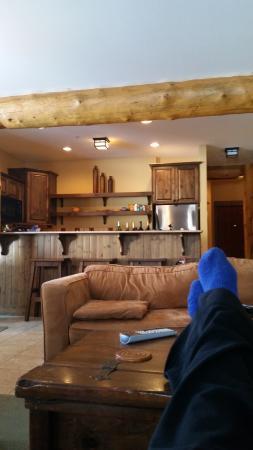 Kimberley, Kanada: Warm kitchen