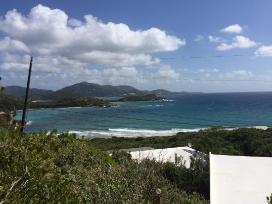 Virgin Islands Campground: view from our cabin
