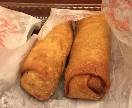 Enterprise, AL: Egg rolls