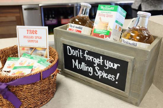 Watsonville, Califórnia: Martinelli's Mulling Spices