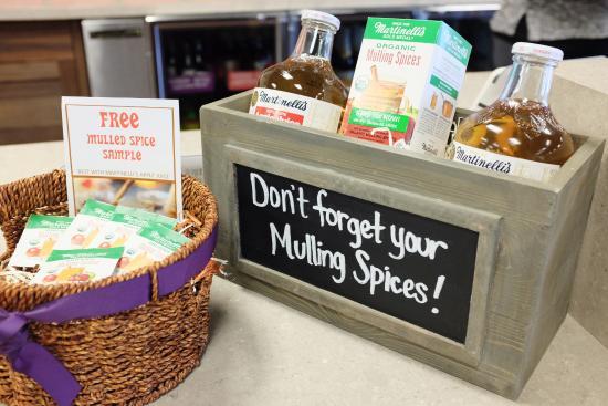 Watsonville, Californië: Martinelli's Mulling Spices