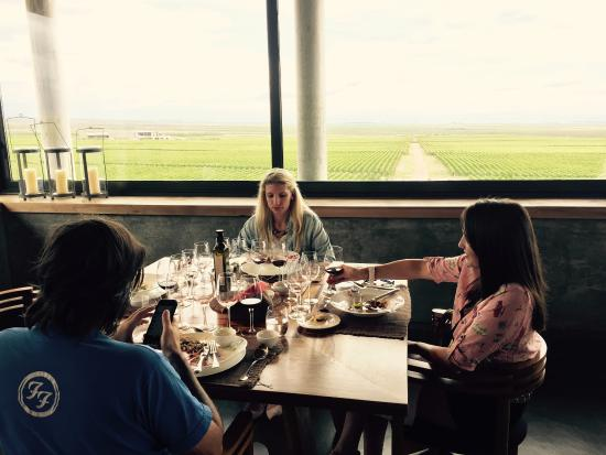 Clos de los 7: Almuerzo en Clos de los Siete con vista a los viñedos