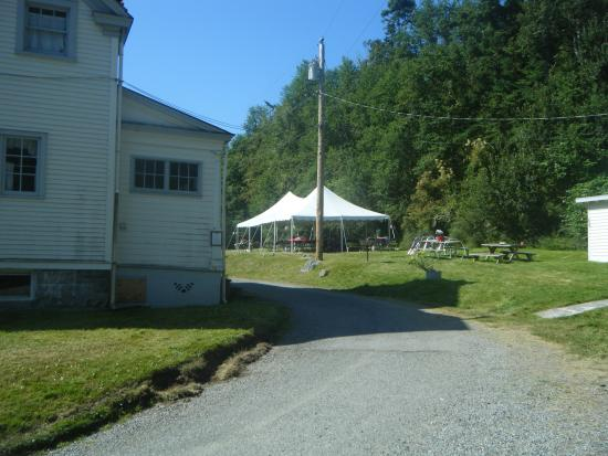Fort Casey Inn: Special Event Canopy